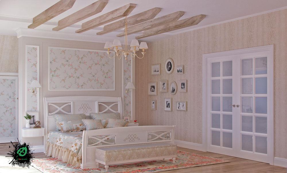 Дизайн-проект коттеджа 300 кв.м в стиле шале
