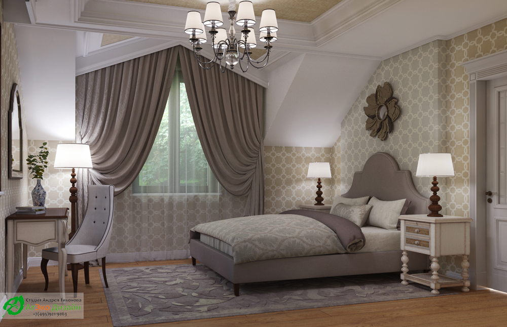 Guest bedroom variant 2