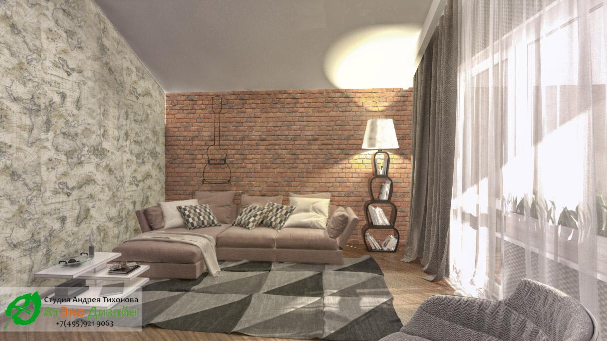 Дизайн комнаты для гостей в современном стиле