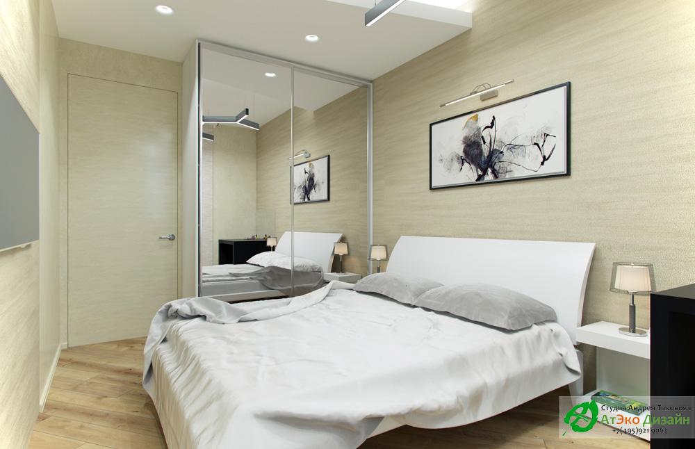 Фото спальня в квартире в стиле Минимализм