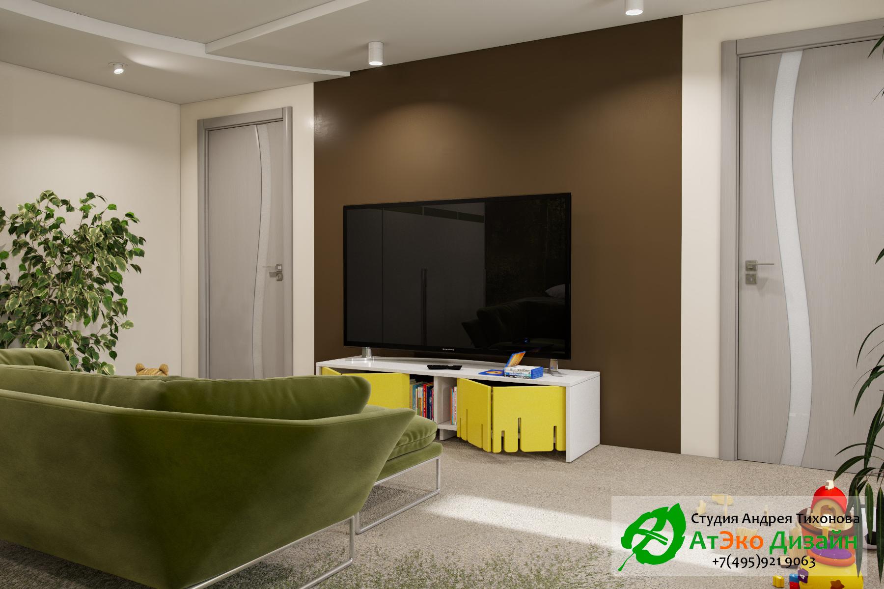 Фото дизайна зоны отдыха для детей в апартаментах