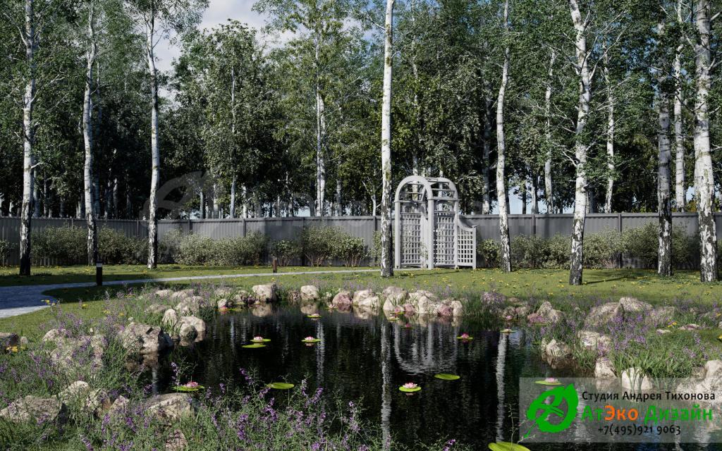 Ландшафтный дизайн-проект для дома