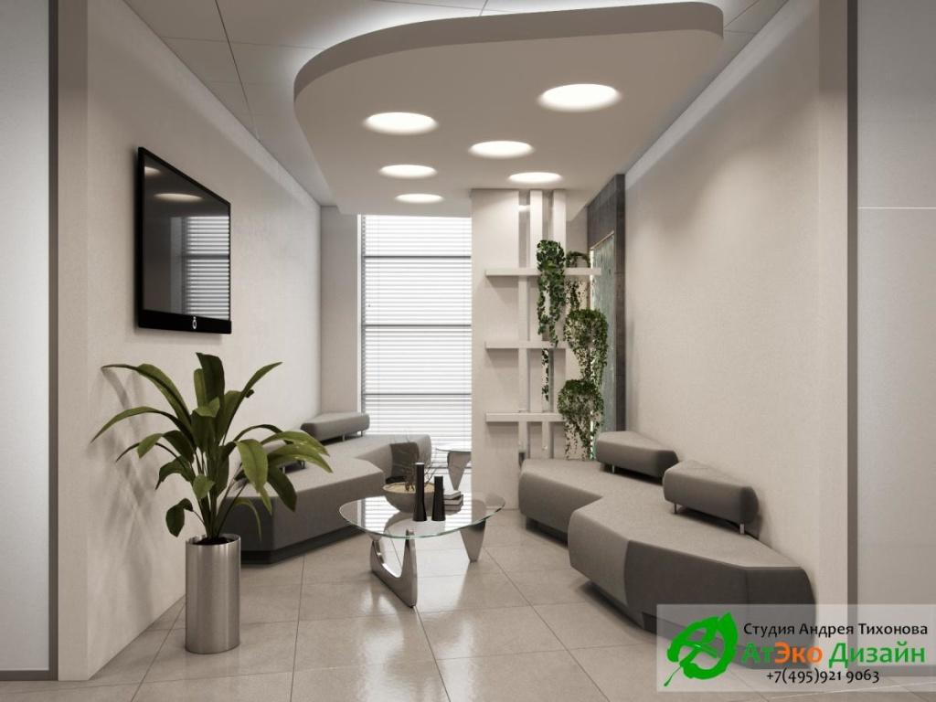 офис в стиле минимализм - студия АтЭко Дизайн
