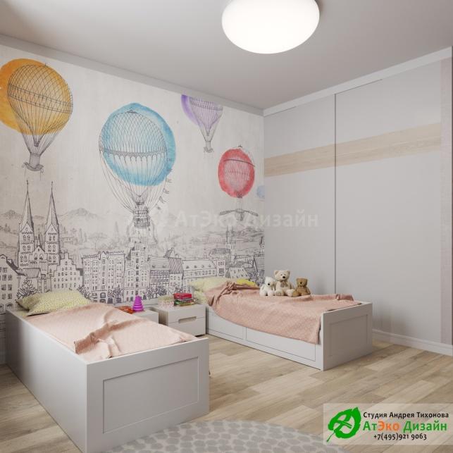 Сколково медовая дизайн интерьера детской для двоих