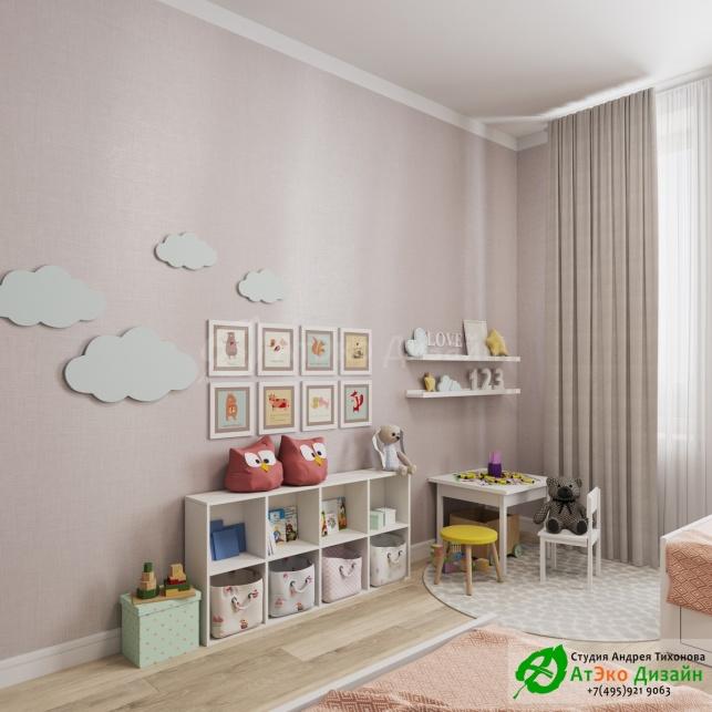 Сколково медовая дизайн интерьера детской
