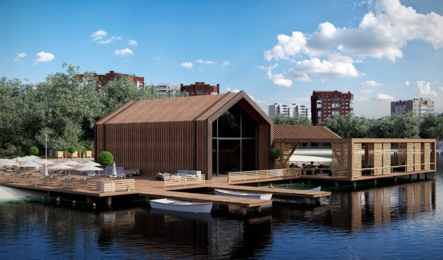 Большие садовые пруды архитектурный проект
