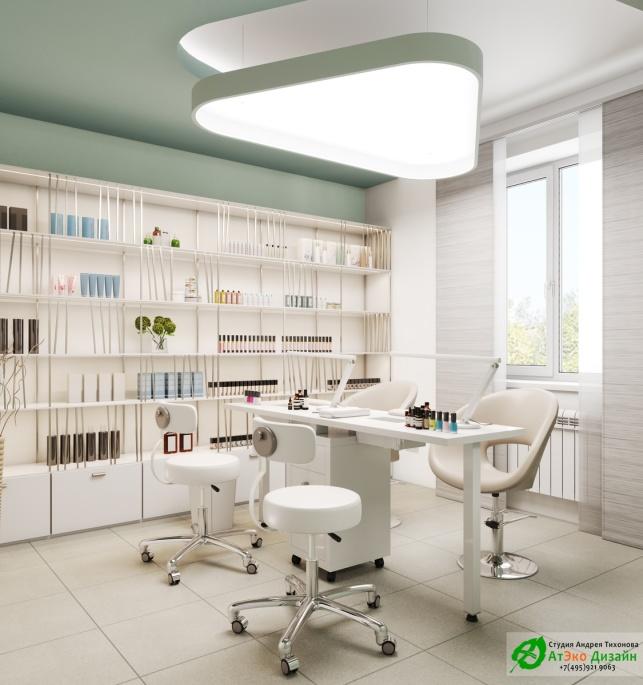 Дизайн-проект подологического центра маникюрный кабинет