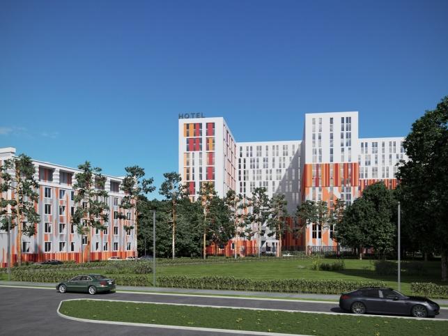 Архитектурный проект комплекса апартаментов М1 Сколково
