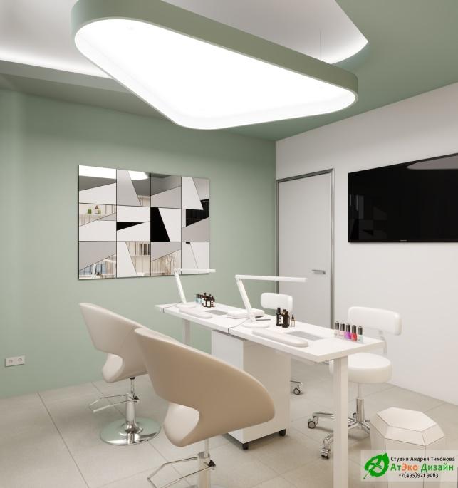 Дизайн-проект подологического центра кабинет для маникюра