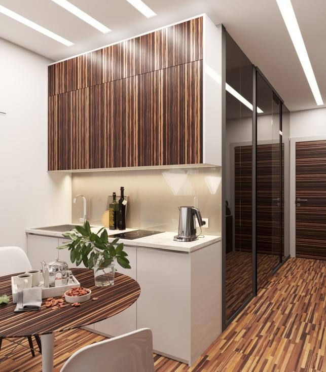Отель М1 Сколково Одинцово дизайн-проект Апартаментов 2 этаж 2 вариант