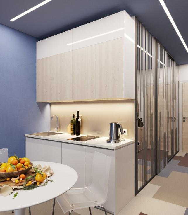 Отель М1 Сколково дизайн-проект Апартаментов 2 этаж