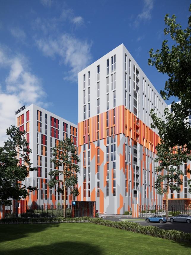 Архитектурный проект комплекса апартаментов М1 Сколково в Одинцово