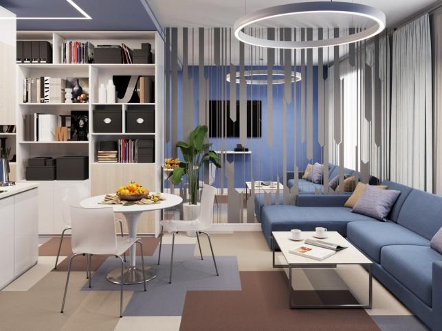 Отель М1 Сколково дизайн-проект Апартаментов