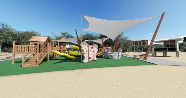 Большие садовые пруды архитектурный проект детская зона