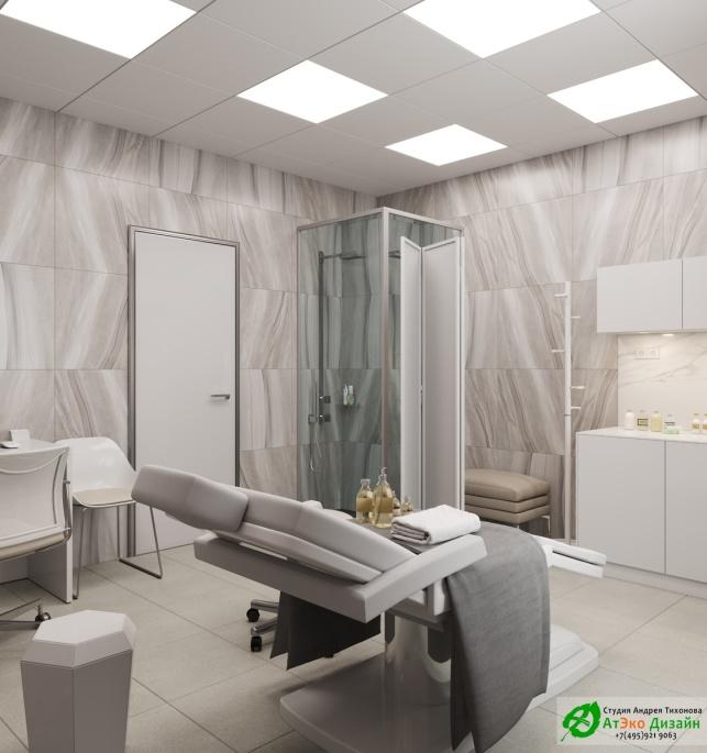 Дизайн-проект подологического центра фото кабинет массажа
