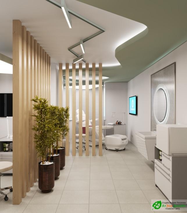 Дизайн-проект подологического центра педикюрный кабинет