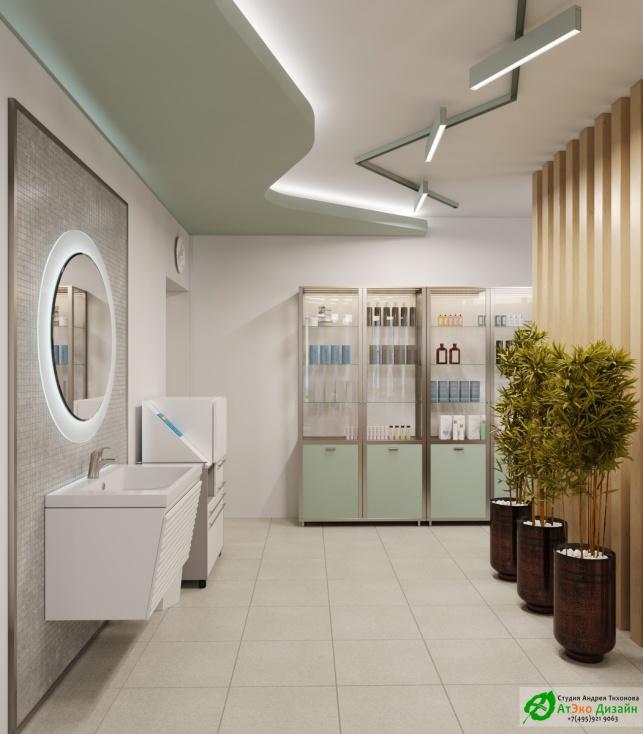 Дизайн-проект подологического центра кабинет педикюра