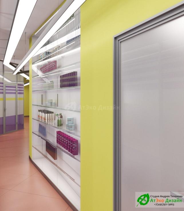 Дизайн проект Медцентр Воркута коридор