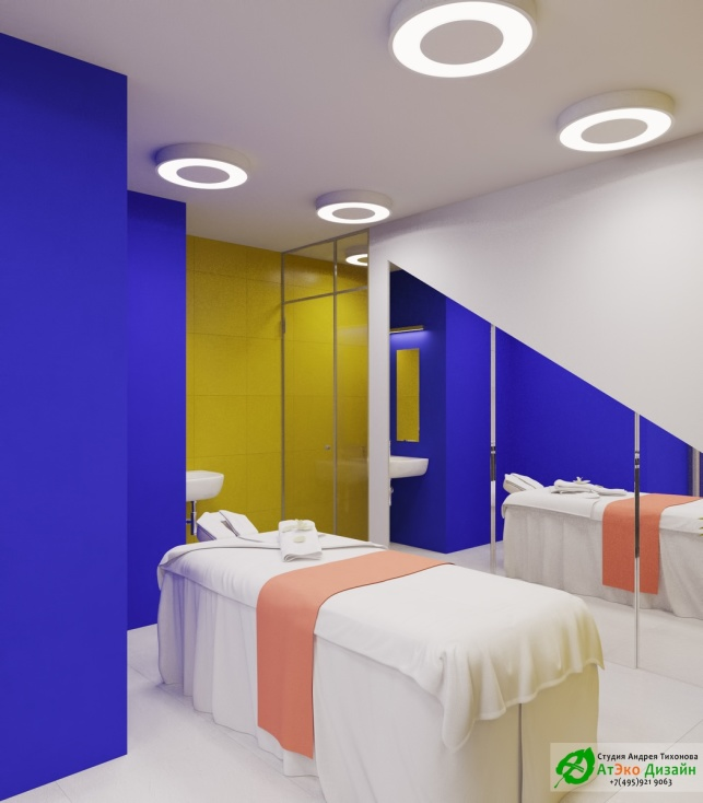 Косметология Чонгарский бульвар дизайн интерьера массажного кабинета