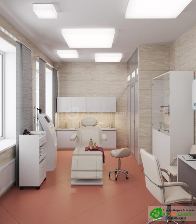 Дизайн проект Медцентр Воркута интерьер кабинета