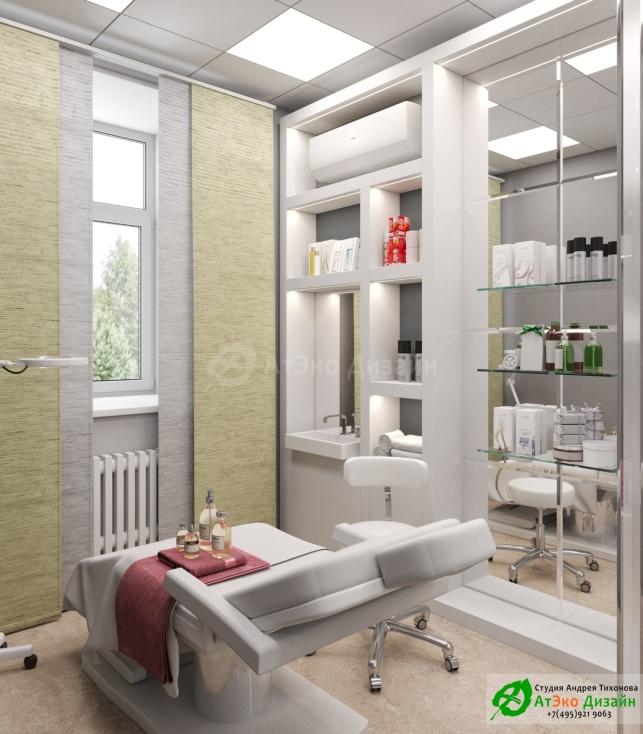 Дизайн-проект косметологического салона на Фрунзенской набережной Кабинет№1