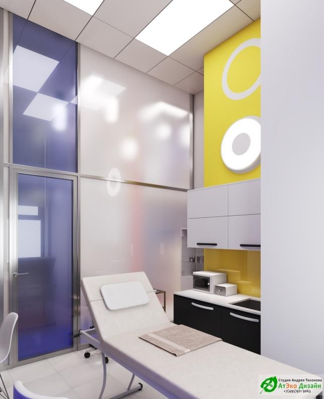 Косметология Чонгарский бульвар дизайн интерьера процедурного кабинета