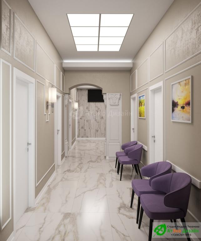 Клиника Берс Космонавтов18 2 Этаж дизайн проект