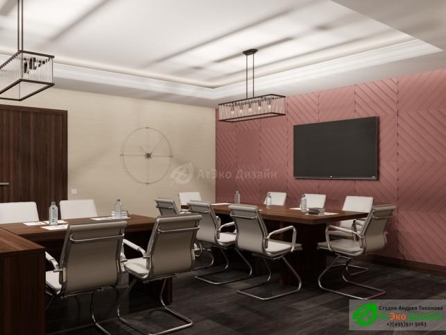 Клиника Берс Космонавтов18 кабинет директора дизайн интерьера