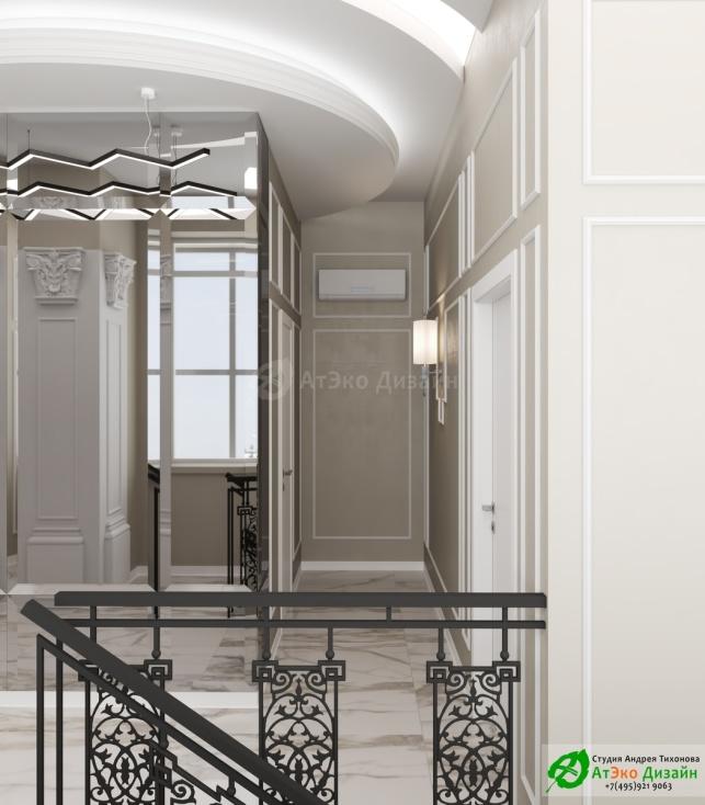 Клиника Берс Космонавтов18 2 Этаж коридор и выход на лестницу