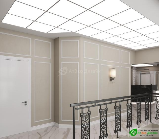 Проект дизайна интерьера Клиники Берс Космонавтов18 Ресепшен Холл