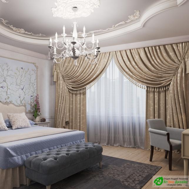 Апартаменты Триколор спальня девочки дизайн проект