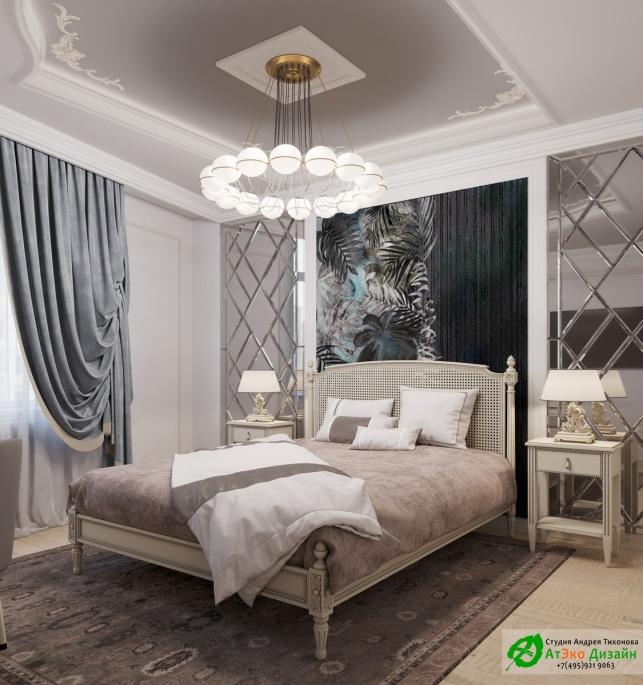 Апартаменты Триколор спальня мальчика дизайн проект