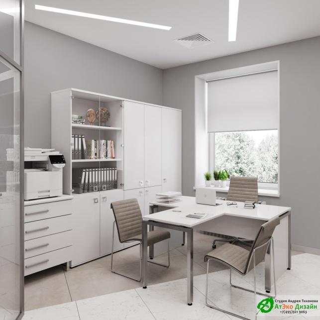 Дизайн проект АСТ-Клиник офис