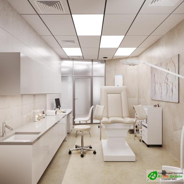 Дизайн проект АСТ-Клиник кабинет гинеколога