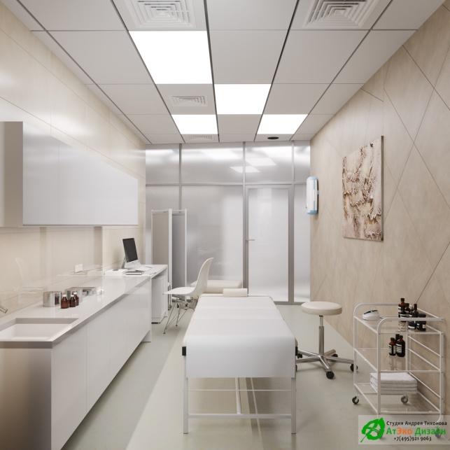 Дизайн проект АСТ-Клиник кабинет ортопеда