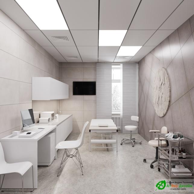 Дизайн проект АСТ-Клиник процедурный кабинет