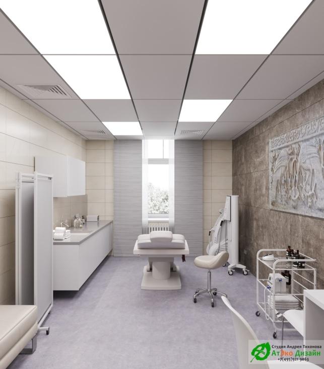 Дизайн проект АСТ-Клиник процедурная с креслом