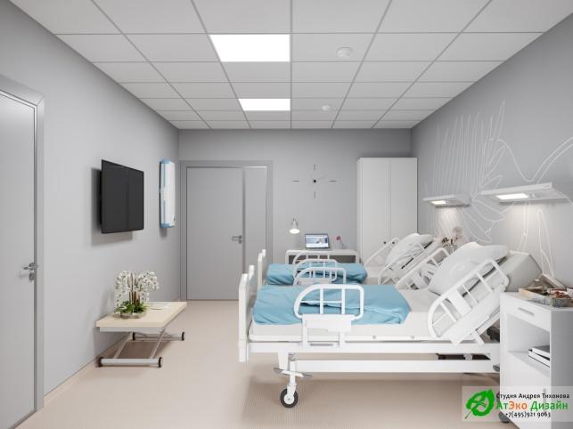 10_Клиника_Шуваловская_каб_№18_Палата пациента_2Этаж