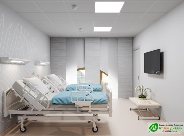 11_Клиника_Шуваловская_каб_№18_Палата пациента_2Этаж